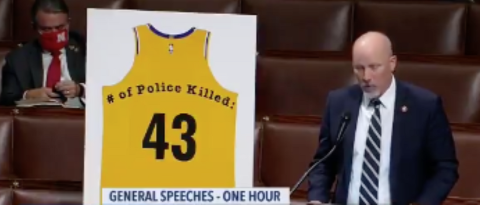 Chip Roy Reads Names Of 43 Fallen Police Officers