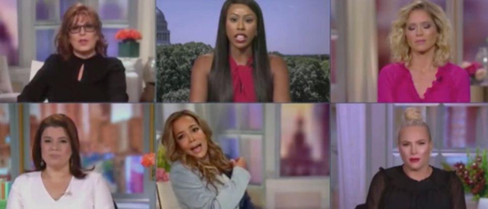 """Kim Klacik joins """"The View."""" Screenshot/ABC"""