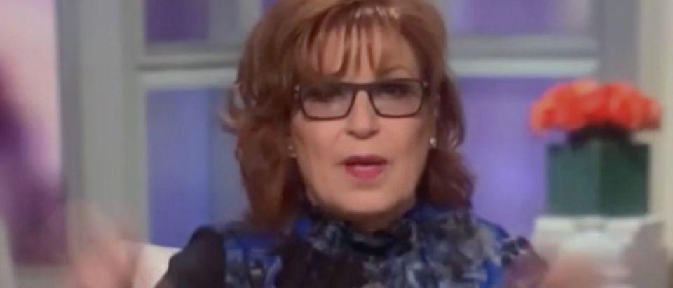 "Joy Behar appear on ""The View."" Screenshot/ABC"