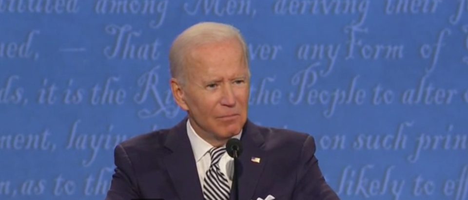 Joe Biden slammed Trump for Portland rioting but added that he has not contacted leadership to help the issue. (Screenshot Fox News)