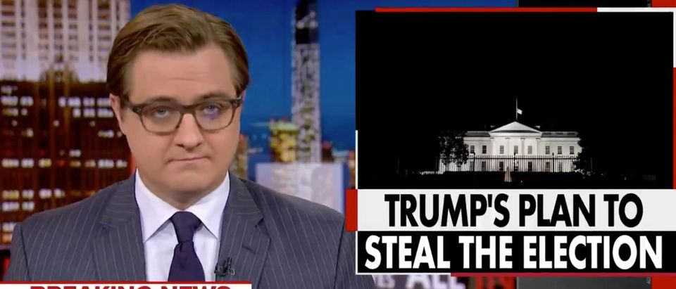 Screenshot- All In With Chris Hayes on Twitter