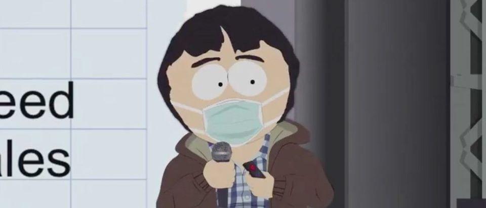 South Park (Credit: Screenshot/Twitter Video https://twitter.com/SouthPark/status/1305944473369796610)