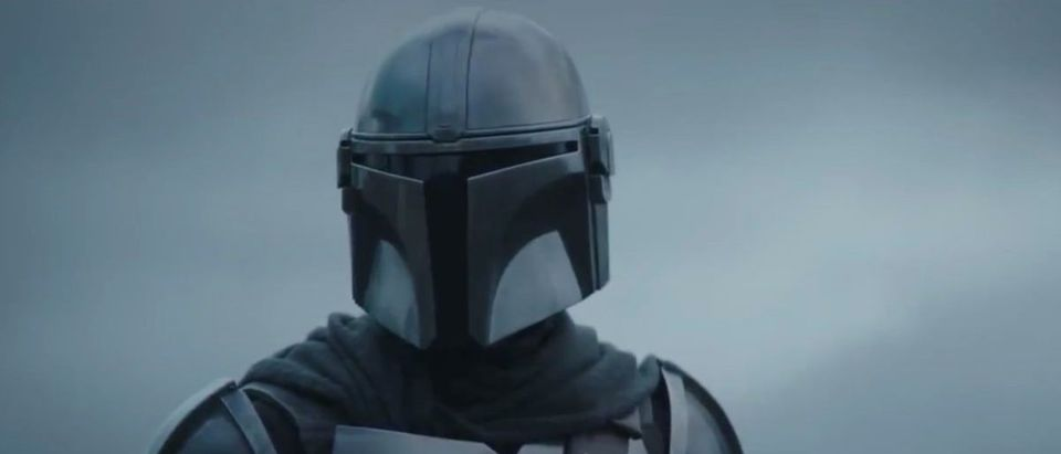 The Mandalorian (Credit: Screenshot/Twitter Video https://twitter.com/themandalorian/status/1305868996965625858)