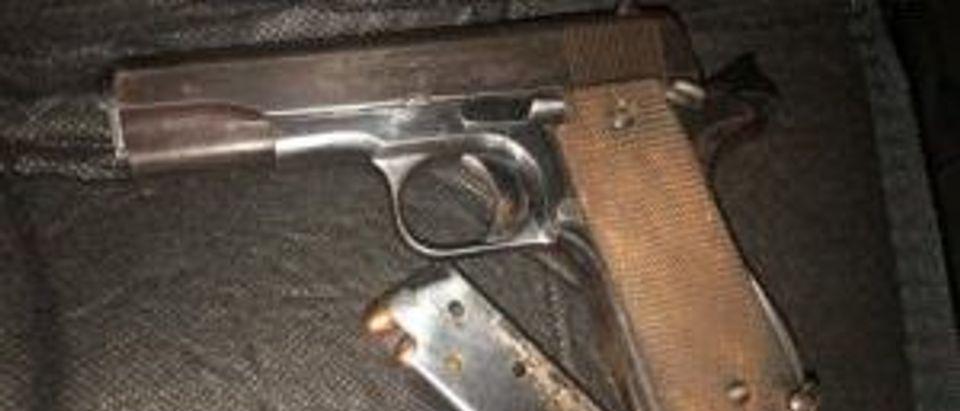 Gun recovered/PPB Blog