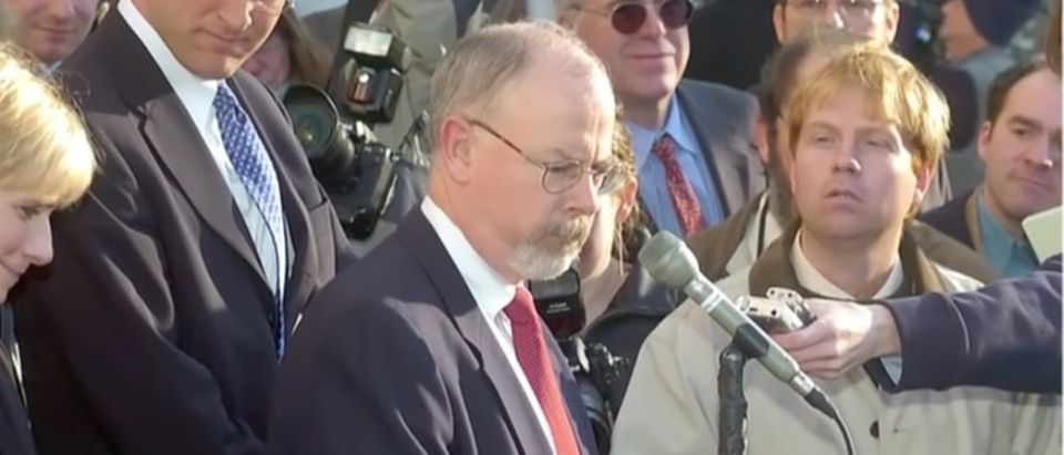 U.S. Attorney John Durham (Youtube screen capture/Fox News)