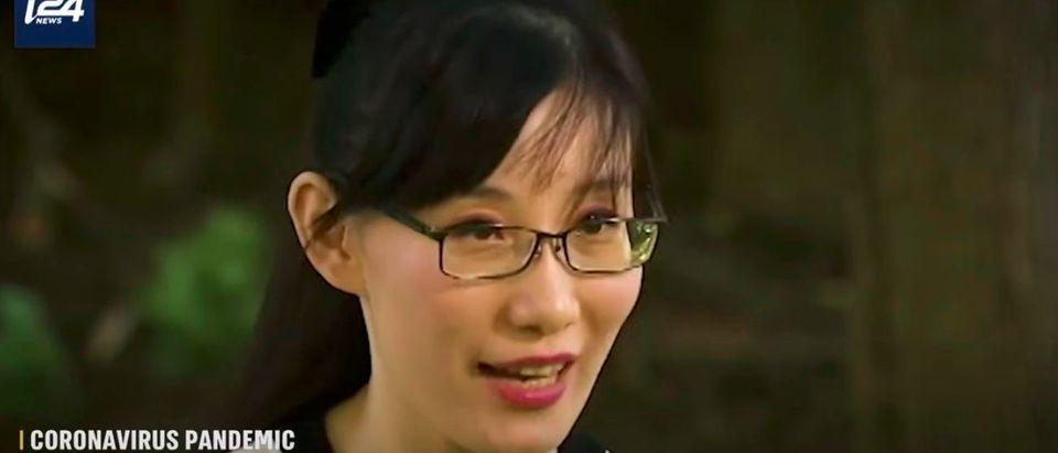 Li-Meng Yan (screenshot YouTube/i24 NEWS)