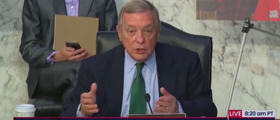 Sen. Dick Durbin at Amy Coney Barrett Senate Judiciary Committee hearing