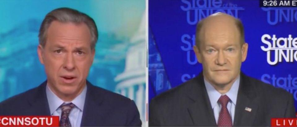 Delaware Sen. Chris Coons On CNN