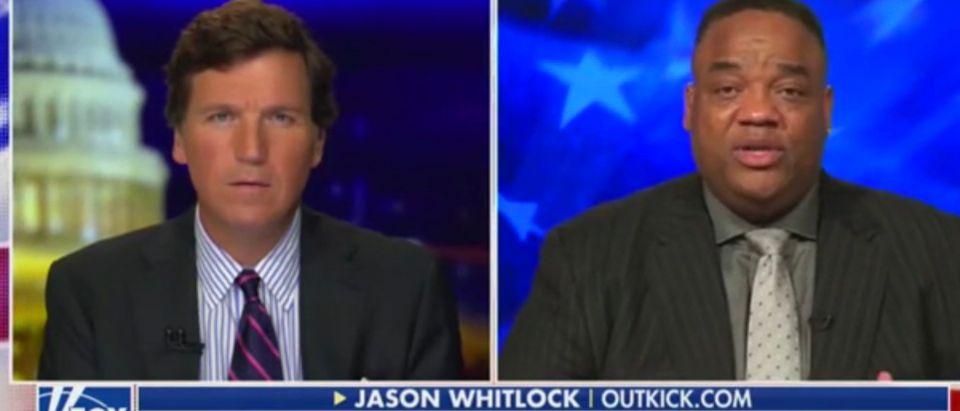 Tucker Carlson and Jason Whitlock