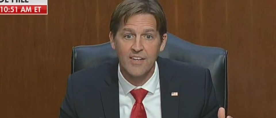 Ben Sasse discusses difference between civics and politics (Fox News screengrab)