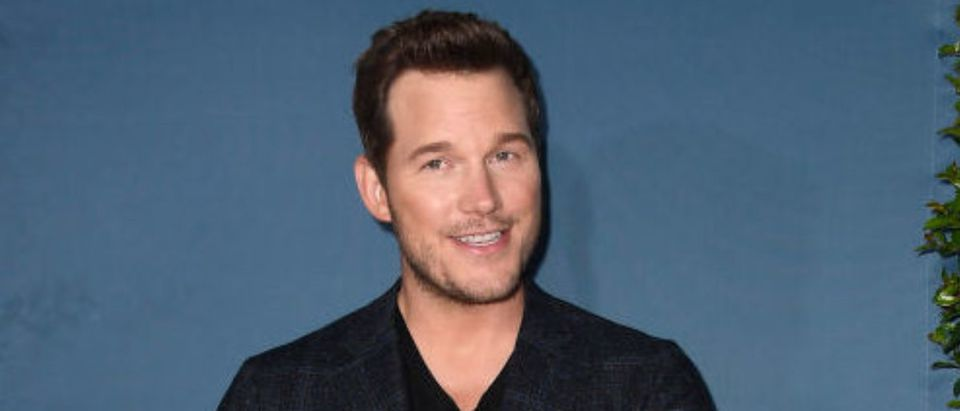"""UNIVERSAL CITY, CALIFORNIA - JULY 22: Chris Pratt attends the Universal Studios Hollywood's """"Jurassic World-The Ride"""" Grand Opening Celebration at Universal Studios Hollywood on July 22, 2019 in Universal City, California. (Photo by Frazer Harrison/Getty Images)"""