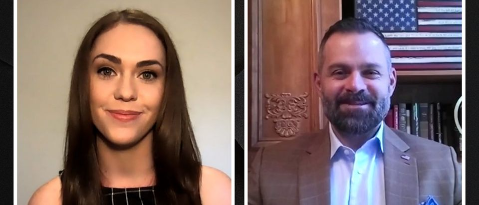 Cory Mills speaks with the Daily Caller
