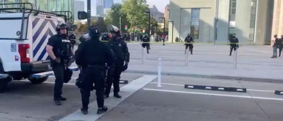 Denver shooting/Twitter via Marc Sallinger