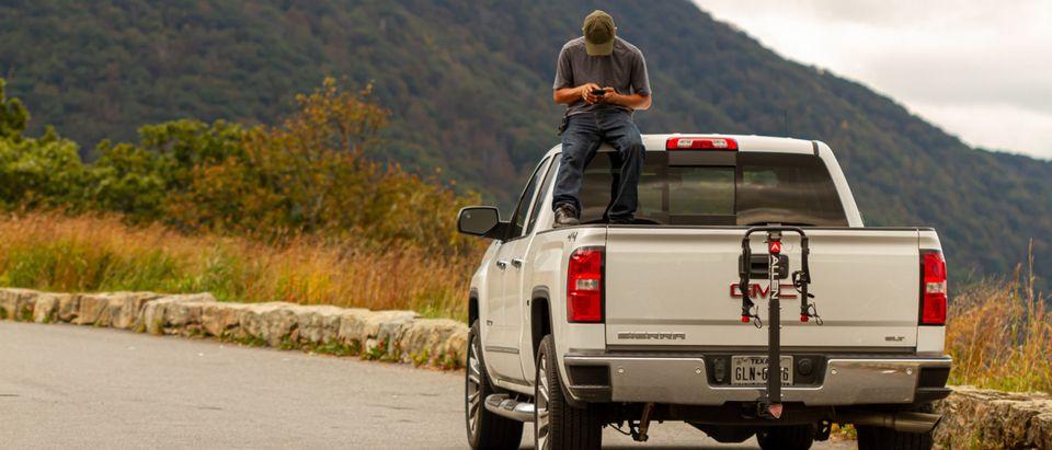 GMC Sierra Truck. Shutterstock