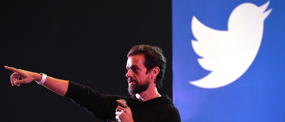 Twitter CEO and co-founder Jack Dorsey (Photo by PRAKASH SINGH/AFP via Getty Images)