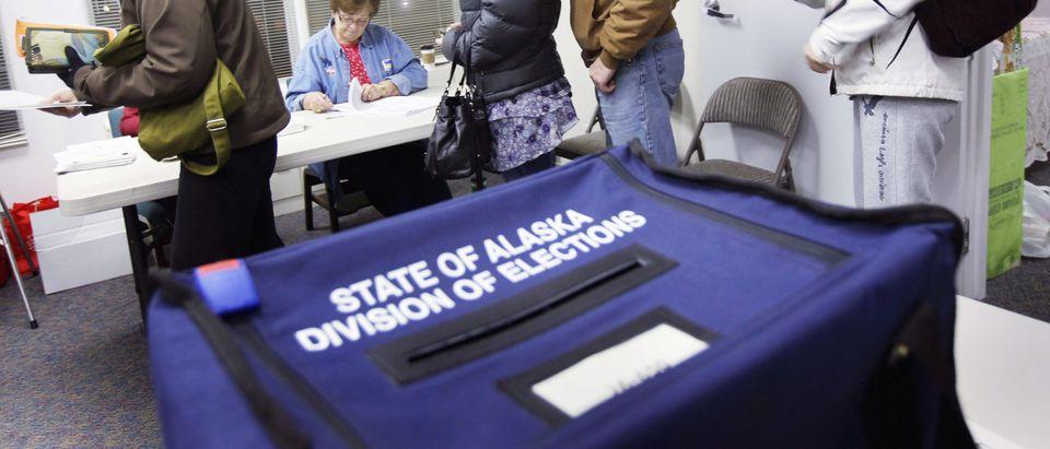 Candidates Campaign In Alaska's Tight Three-Way Senate Race