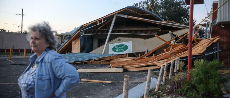 Hurricane Zeta Barrels Down On Louisiana Coast