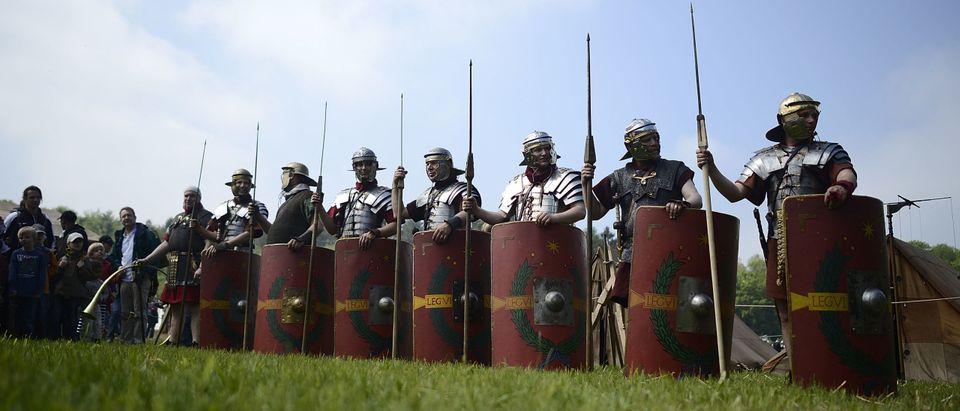 Actors Commemorate The Battle Of Teutoburg Forest