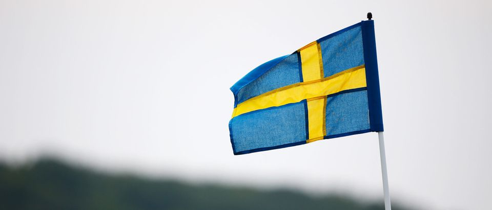 MALMO, SWEDEN - JUNE 06: The pin flags are replaced with Swedish flags to mark Sweden's National Day on day three of the Nordea Masters at the PGA Sweden National on June 6, 2015 in Malmo, Sweden. (Harry Engels/Getty Images)