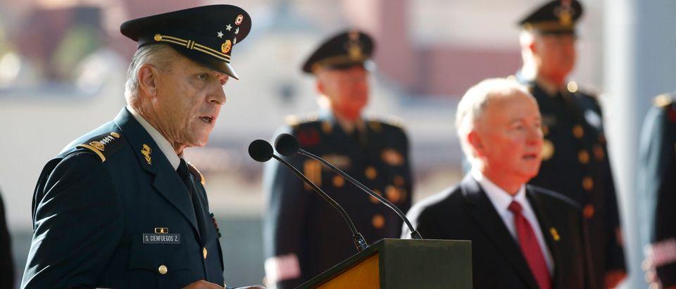 U.S. Defense Secretary Chuck Hagel Visits Mexico City
