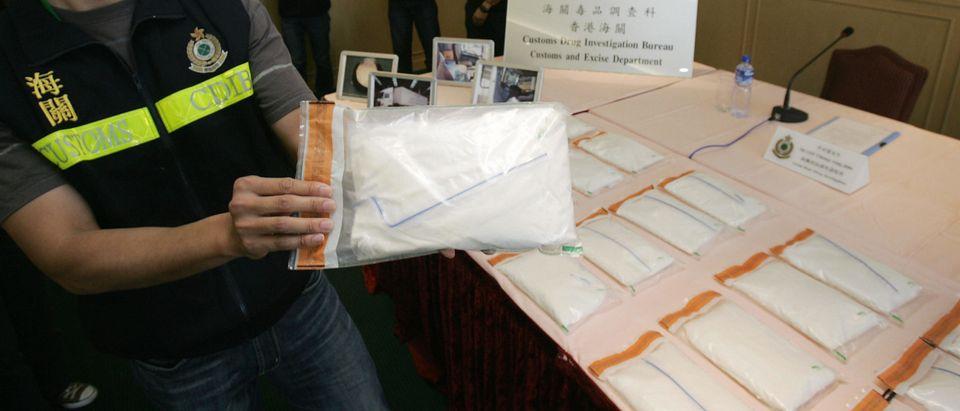Officers of Customs Drug Investigation B
