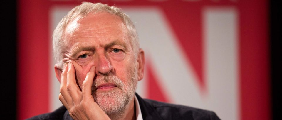 Jeremy Corbyn Leads Rally To Remain In The EU