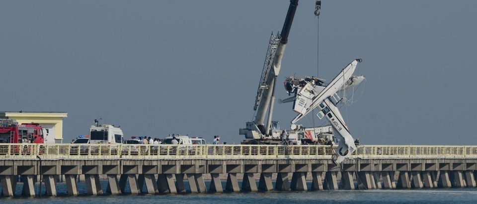 Five Killed In Shanghai's Seaplane Crash
