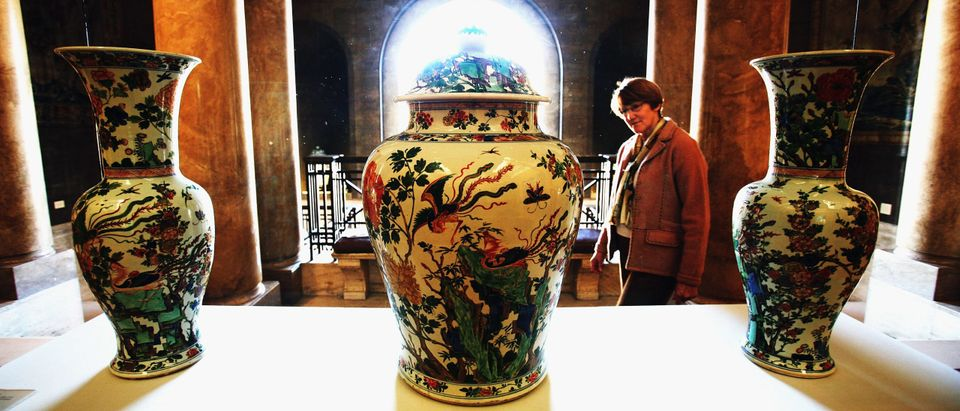 Restored Chinese Vases Back On Public Display