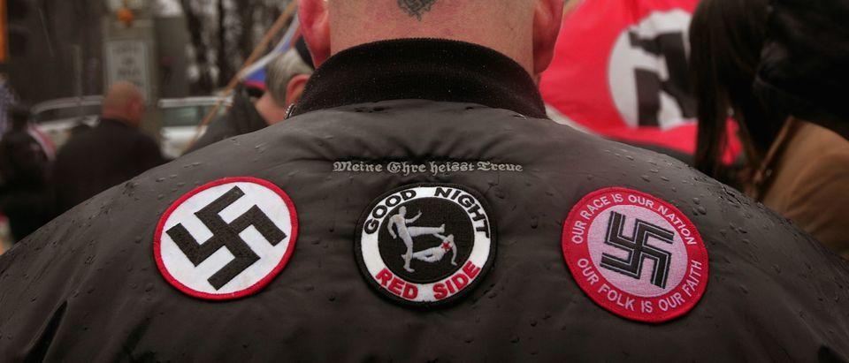 Neo-Nazis Protest Outside Skokie Holocaust Museum Dedication
