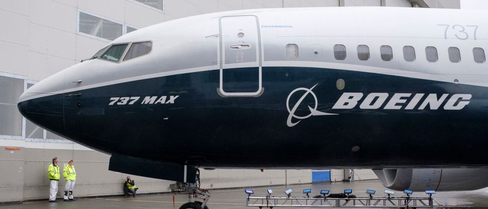 Boeing Unveils Is First 737 MAX 7 Passenger Aircraft At Renton Factory