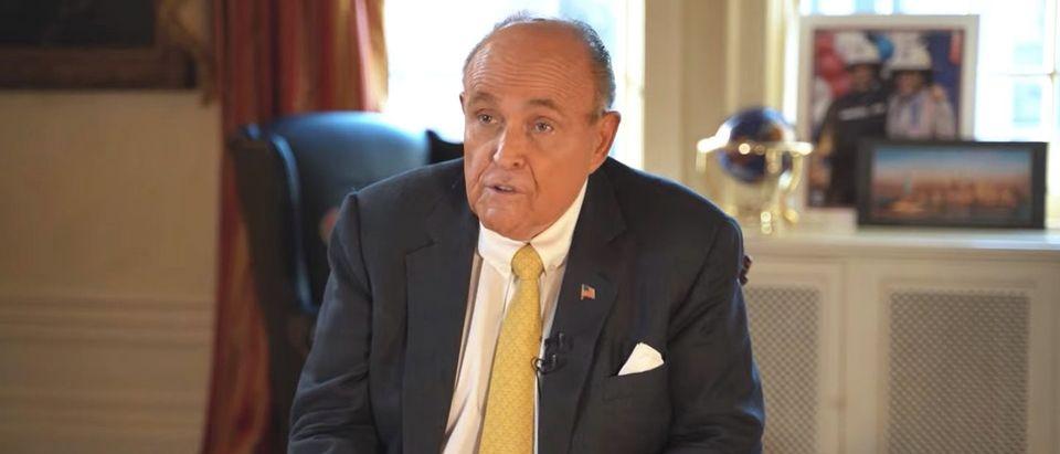 Rudy Giuliani/Daily Caller