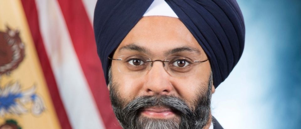 New Jersey's Attorney General Gurbir S. Grewal headshot at the Hughes Justice Complex in Trenton, N.J. on Monday, Jan. 22, 2018. (Office of Attorney General / Tim Larsen)