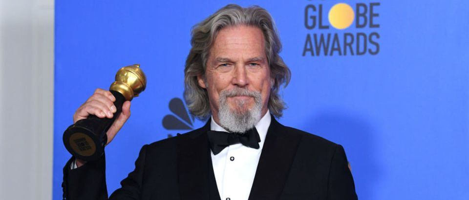 BEVERLY HILLS, CA - JANUARY 06: Cecil B. DeMille Award winner Jeff Bridges poses in the press room during the 76th Annual Golden Globe Awards at The Beverly Hilton Hotel on January 6, 2019 in Beverly Hills, California. (Photo by Kevin Winter/Getty Images)
