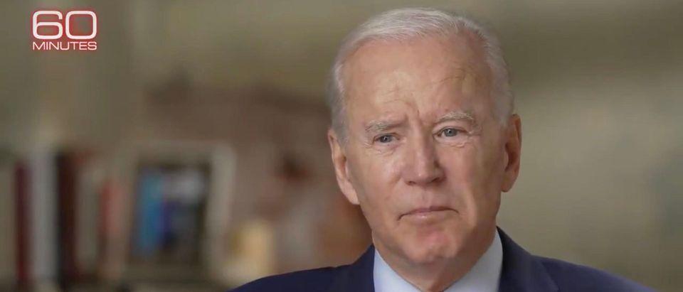 Joe Biden. (Screenshot/Twitter)