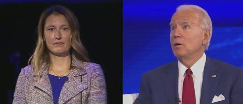 Joe Biden discusses transgender discrimination (ABC screengrab)