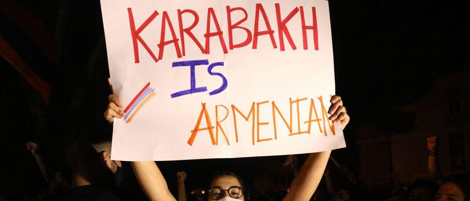 LEBANON-ARMENIA-TURKEY-KARABAKH-PROTEST