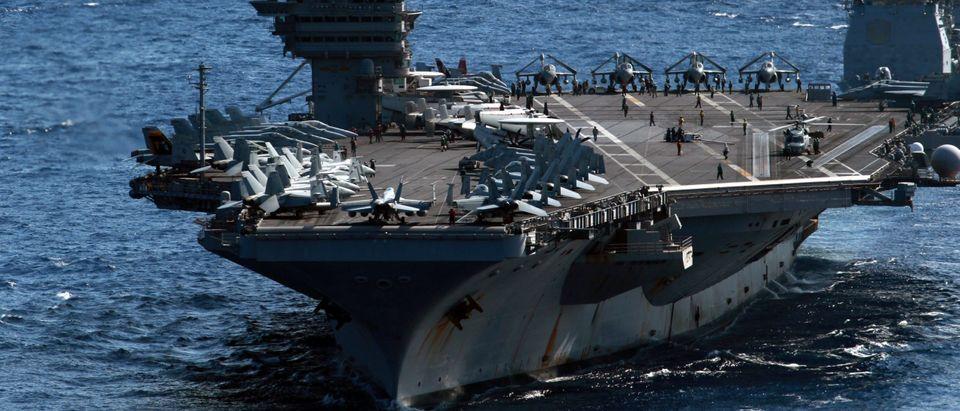 US aircraft carrier USS George Washingto