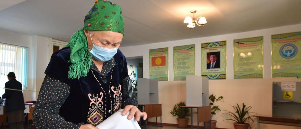 KYRGYZSTAN-ELECTION-PARLIAMENTARY