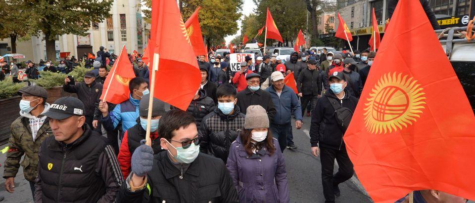 Kyrgyzstan Protests October 2020
