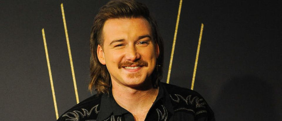 CALGARY, AB - SEPTEMBER 08: Morgan Wallen takes a photo on the red carpet during the 2019 Canadian Country Music Awards at Scotiabank Saddledome on September 8, 2019 in Calgary, Canada. (Photo by Derek Leung/Getty Images)