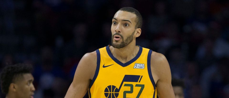 Rudy Gobert (Photo by Mitchell Leff/Getty Images)