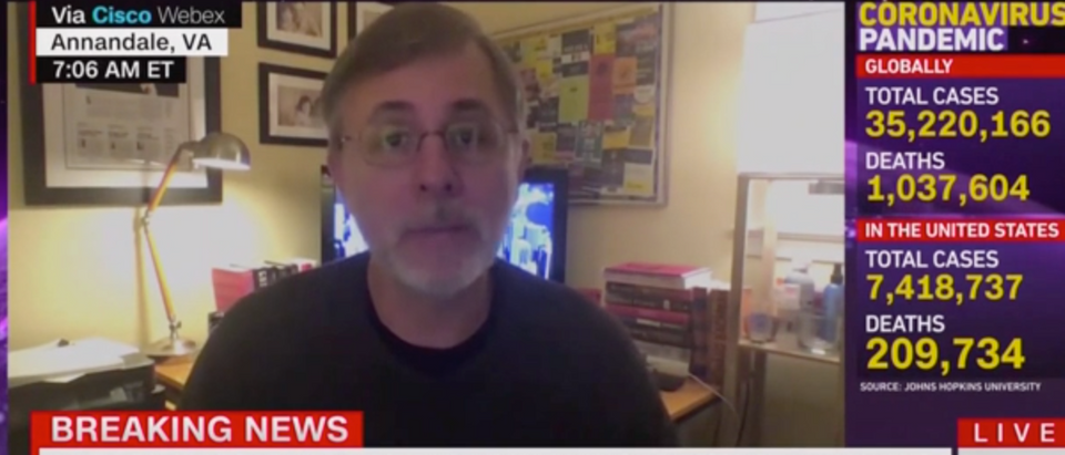Michael Shear slammed the White House for how it has dealt with COVID-19 within its walls. (Screenshot CNN, New Day)