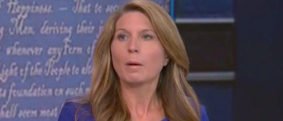 Nicolle Wallace gives post-debate recap. Screenshot/MSNBC