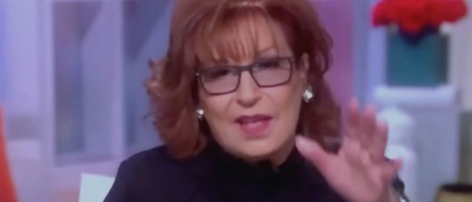 "Joy Behar appears on ""The View."" Screenshot/ABC"