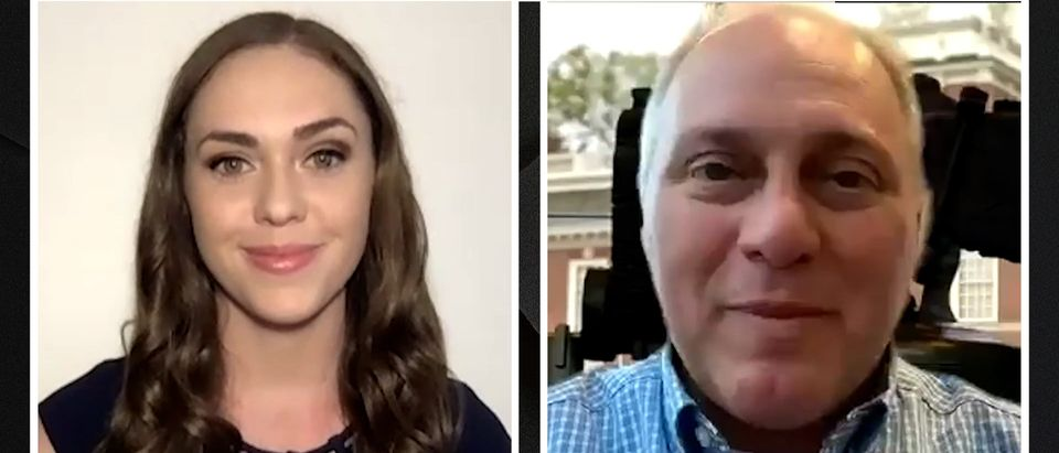 Rep. Steve Scalise speaks with the Daily Caller