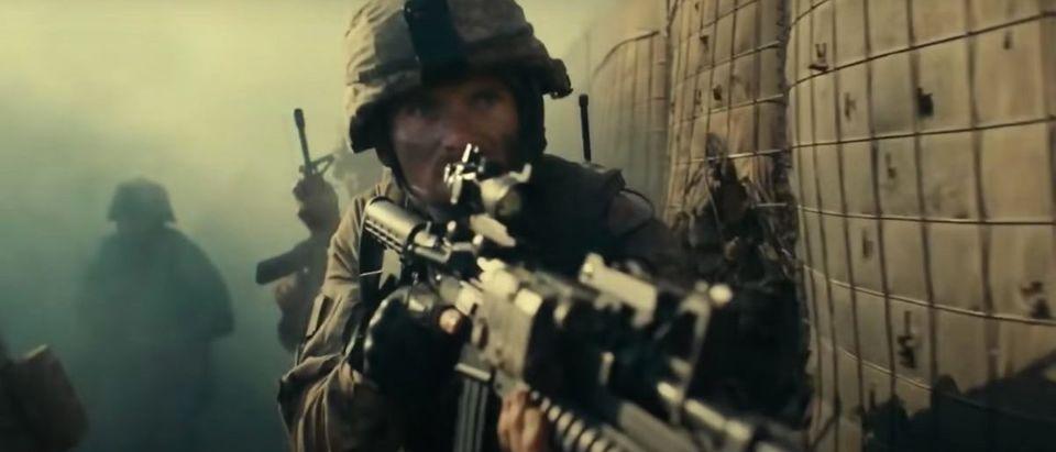 The Outpost (Credit: Screenshot/Twitter Video https://www.youtube.com/watch?v=Kp9JghhGPao)