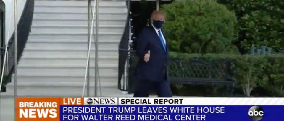 President Trump. (Screenshot/Twitter)