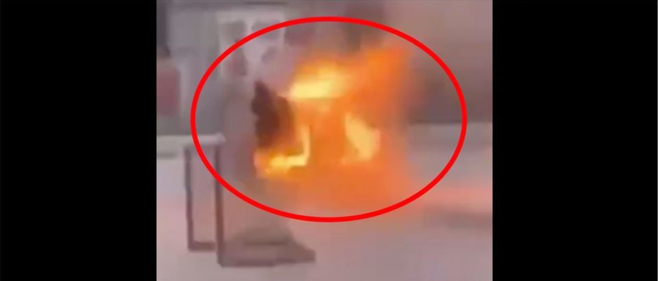 Zamboni Video (Credit: Screenshot/Twitter Video https://twitter.com/barstoolsports/status/1316551819062136834)