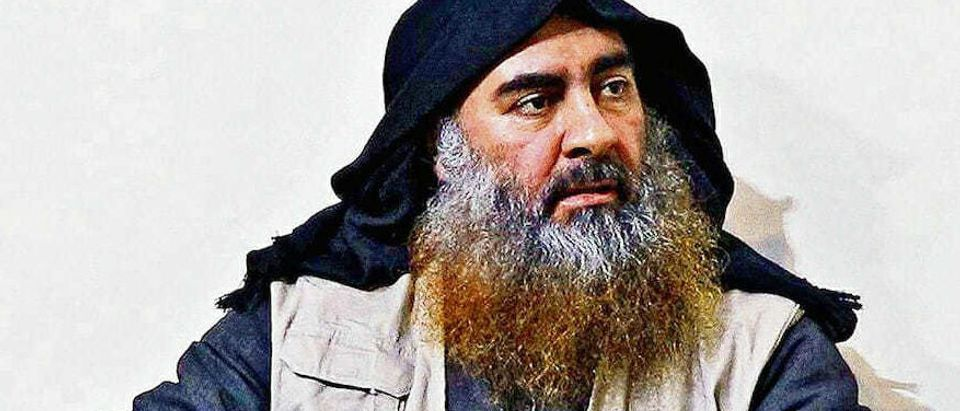 In this undated handout image provided by the Department of Defense, ISIS leader Abu Bakr al-Baghdadi is seen in an unspecified location. On October 26, 2019, U.S. Special Operations forces closed in on al-Baghdadi's compound in Syria with a mission to kill or capture the terrorist. (Photo by Department of Defense via Getty Images)