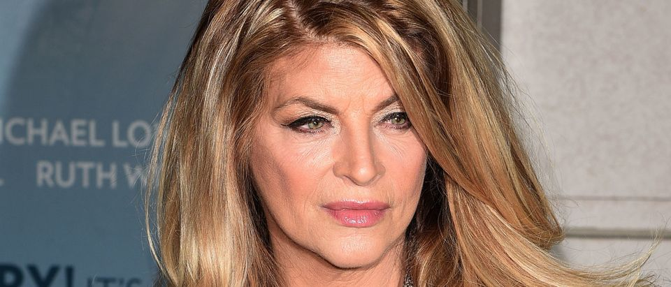 "Kirstie Alley attends ""Constellations"" Broadway opening night at Samuel J. Friedman Theatre on January 13, 2015 in New York City. (Photo by Andrew H. Walker/Getty Images)"